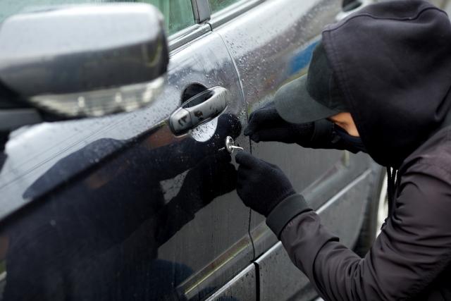 stealing a car