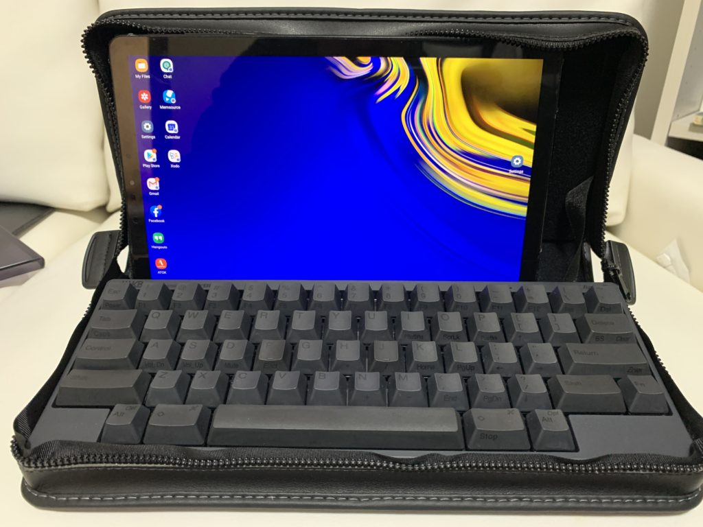 hhkb with tablet