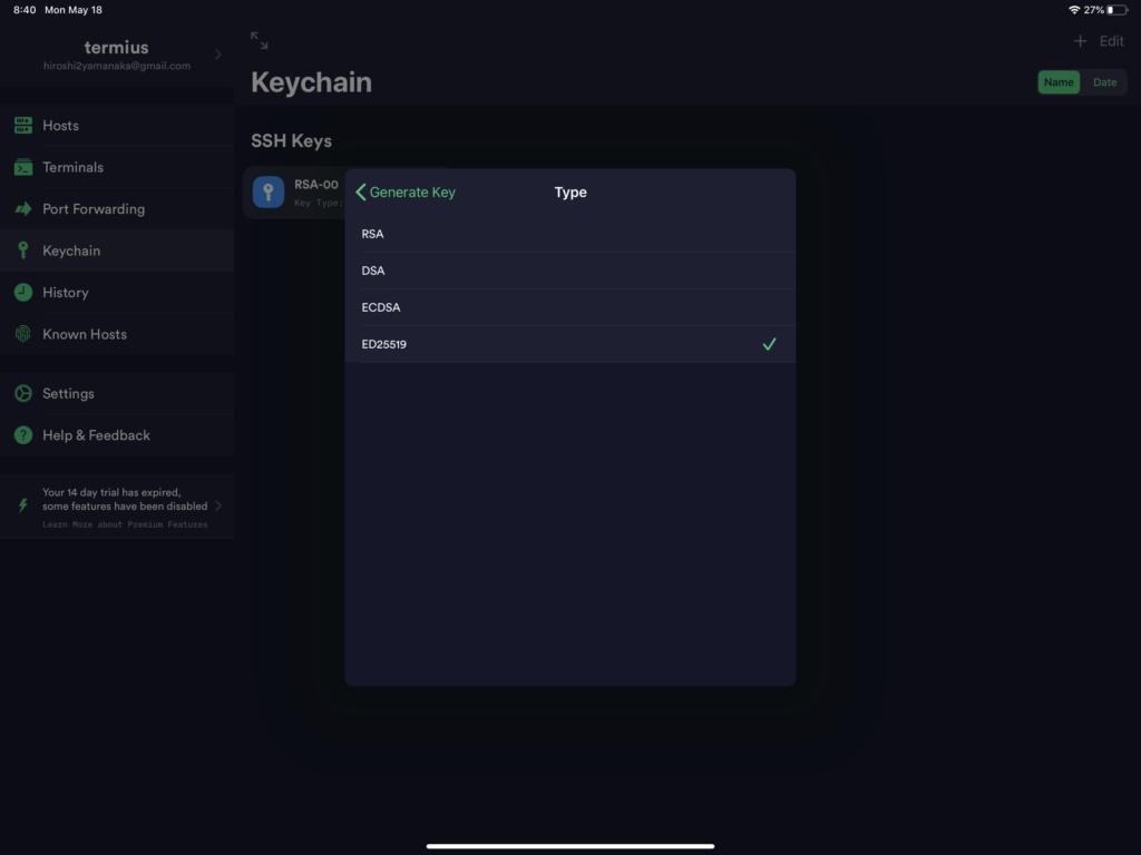 keytype